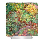 New River Trail Shower Curtain