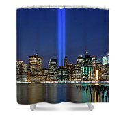 New York City 9/11 Commemoration  Shower Curtain