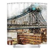 New York Panorama - 29 Shower Curtain