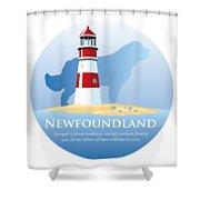 Newfoundland Pride Shower Curtain