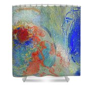 Night And Day Cardboard Shower Curtain