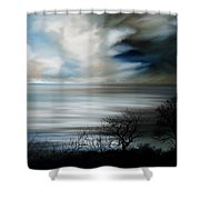 Night And Day Shower Curtain by Mark Taylor