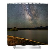 Night At Bbr Shower Curtain