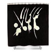 Night Dance Shower Curtain