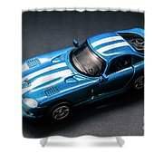 Night Drives Shower Curtain