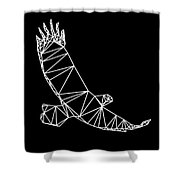 Night Eagle Shower Curtain