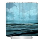 Night Sea Shower Curtain