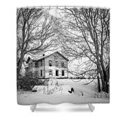 No One Home Shower Curtain by Kendall McKernon