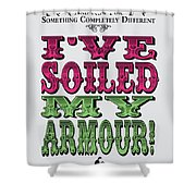 No03 My Silly Quote Poster Shower Curtain