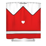 No1027 My Annie Minimal Movie Poster Shower Curtain