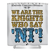 No11 My Silly Quote Poster Shower Curtain