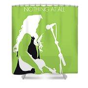 No276 My Alison Krauss Minimal Music Poster Shower Curtain