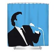 No279 My Julio Iglesias Minimal Music Poster Shower Curtain