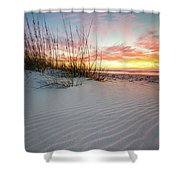 North Beach Dunes Shower Curtain