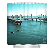 Not Docked Shower Curtain