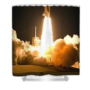 Now Is The Time To Launch Shower Curtain