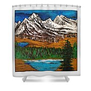 Number Four - Call Of The Wild Shower Curtain