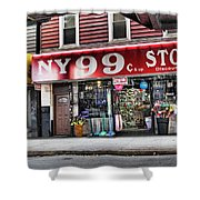 Ny 99 Cent Store Brooklyn  Shower Curtain
