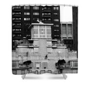 Nyc In Black And White Xiii Shower Curtain