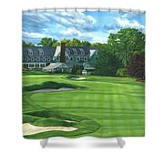 Oakmont Country Club Shower Curtain
