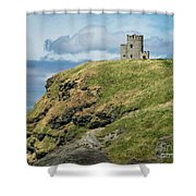 O'brien's Tower Shower Curtain