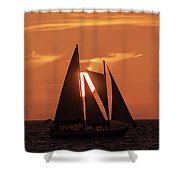 Obscured View Shower Curtain
