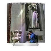 Observers Shower Curtain