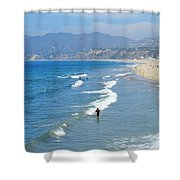 Ocean Beauty Shower Curtain