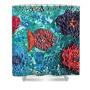Ocean Emotion - Pintoresco Art By Sylvia Shower Curtain