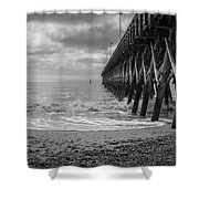Ocean Pier Shower Curtain
