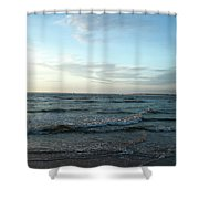Ocean Sky Shower Curtain by Eric Christopher Jackson
