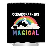 Oceanographers Are Magical Shower Curtain