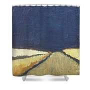 October Night Fields Shower Curtain