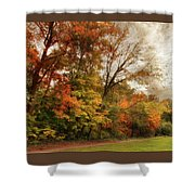 October Skies  Shower Curtain