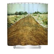 Ode To Country Roads Shower Curtain