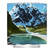 Ode To Louise Shower Curtain