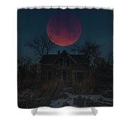 Of Wolf And Man  Shower Curtain