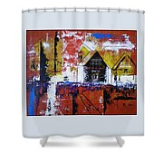 Off Some Forgotten Highway Shower Curtain