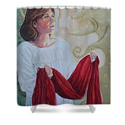 Offering The Issue Shower Curtain