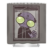 Office Zombie Shower Curtain