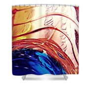 Oil And Water 26 Shower Curtain