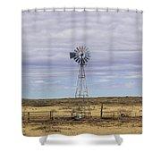 Oklahoma Windmill Shower Curtain