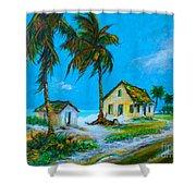 Old Bahama Road Shower Curtain