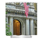 Old City Hall Of Boston Shower Curtain