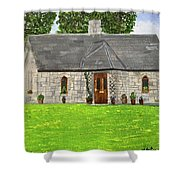 Old Columba's Church Rectory Shower Curtain