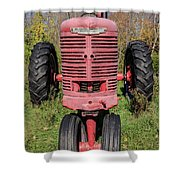 Old Farmall Vintage Tractor Springfield Nh Shower Curtain