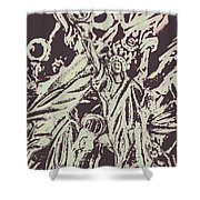 Old Nyc Decorations Shower Curtain