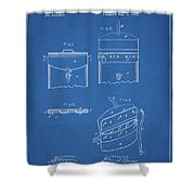 Old Post Office Mail Bag Shower Curtain