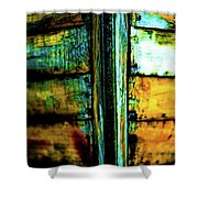 Old Prow Shower Curtain