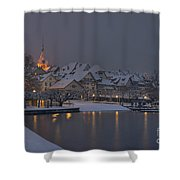Old Town Zug Shower Curtain